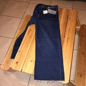 Zara trafaluc collection wide leg jean size 6 US